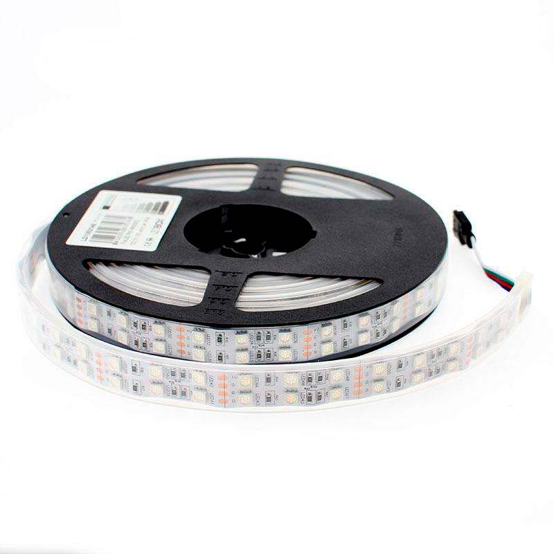 Tira LED SMD5050, RGB, DC12V, 5m (120Led/m) - IP67, RGB